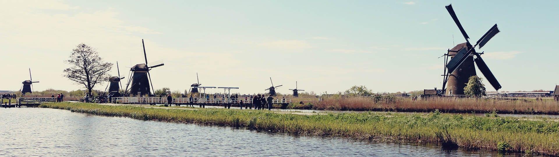 Como chegar em Kinderdijk - os primeiros moinhos da Holanda - 03