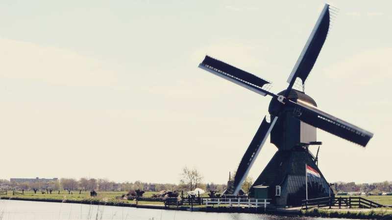 Como chegar em Kinderdijk - os primeiros moinhos da Holanda - 09