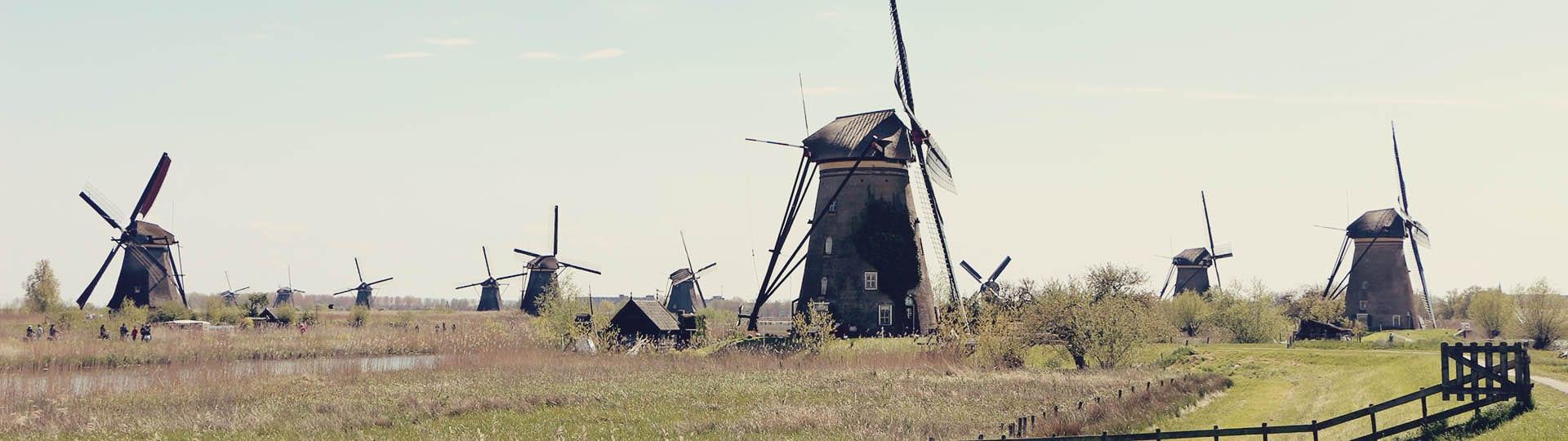 Como chegar em Kinderdijk - os primeiros moinhos da Holanda - 12