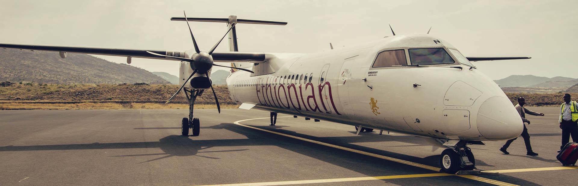 Como é voar de Ethiopian Airlines - 01