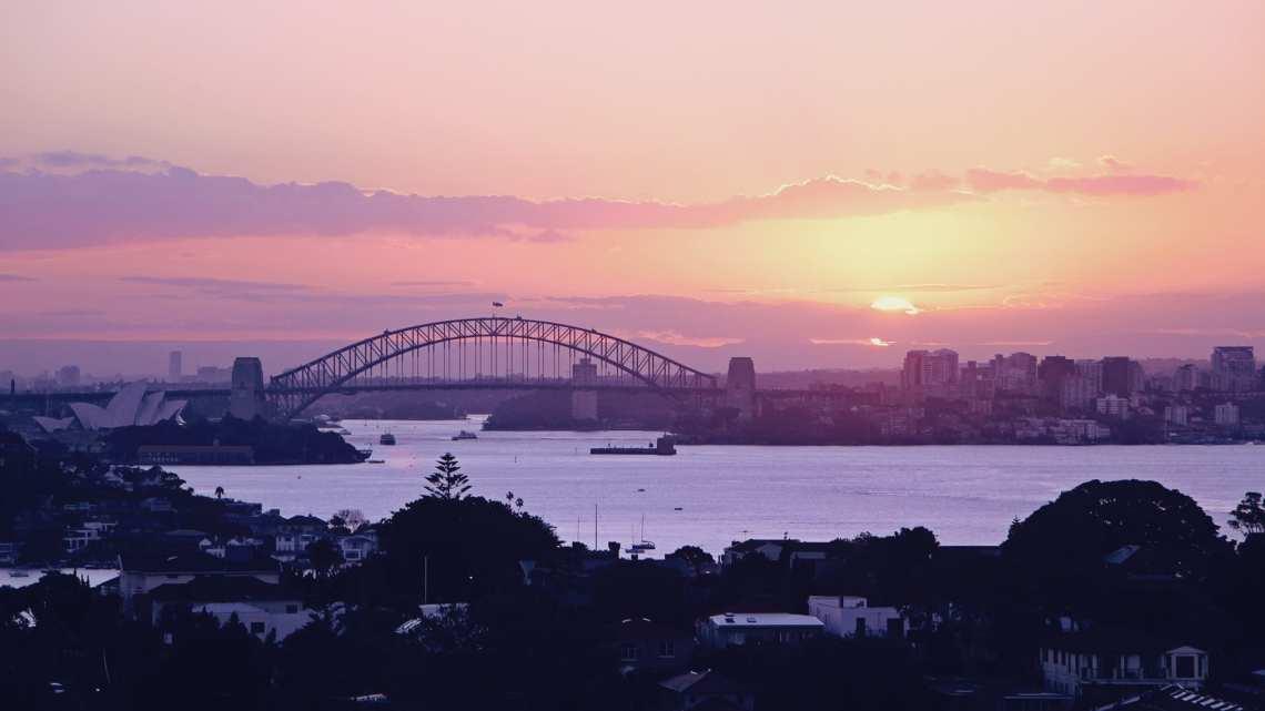 Réveillon, ano novo e fogos de artifício Sydney, Austrália - 01