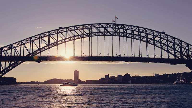 Réveillon, ano novo e fogos de artifício Sydney, Austrália - 02
