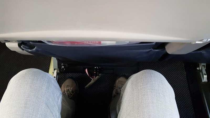 Review da Air Canada Interno e Externo - 05