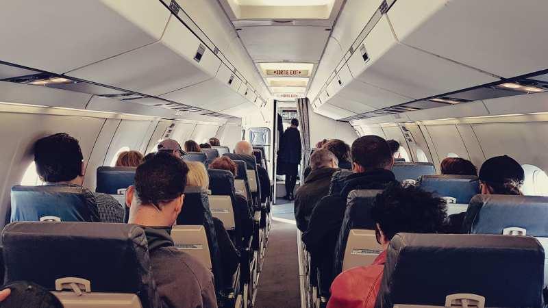 Review da Air Canada Interno e Externo - 09
