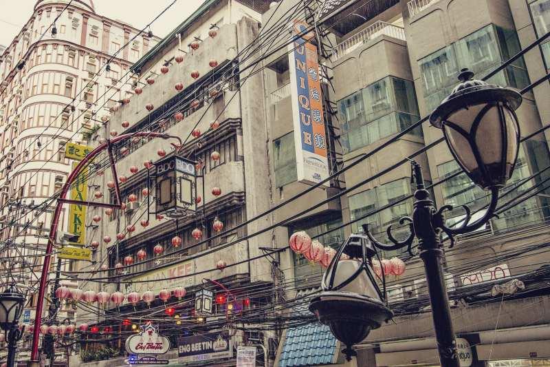 Chinatown em Manila