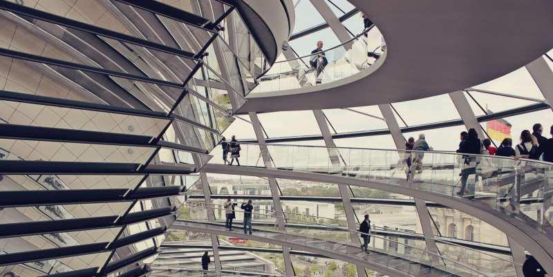 Como visitar a cúpula do Reichstag e o Parlamento Alemão - 11