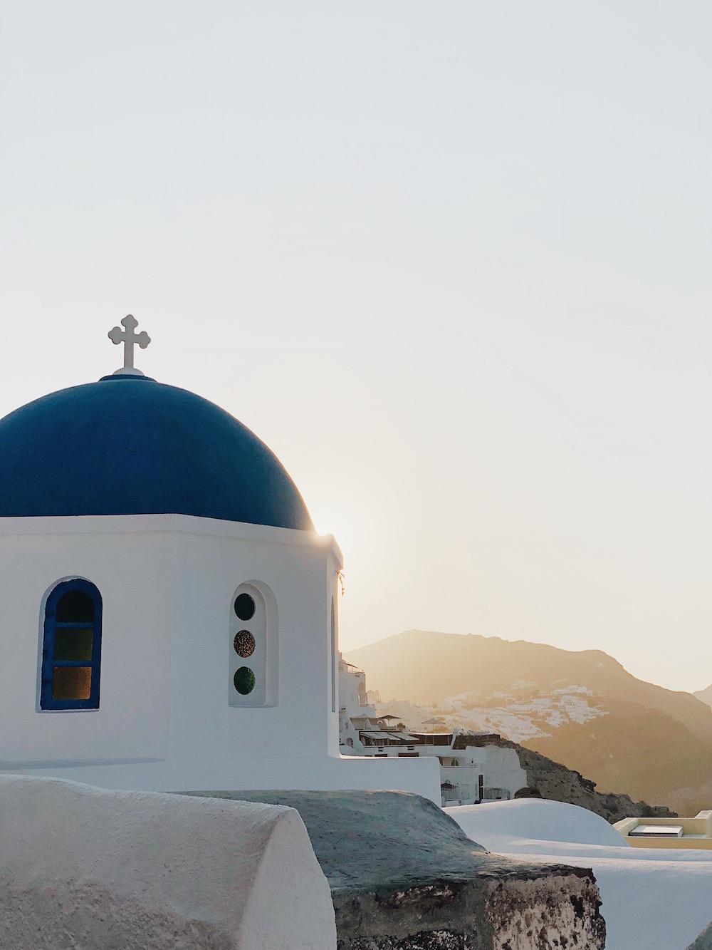 Destination Santorin - Blog famille Sunday Grenadine