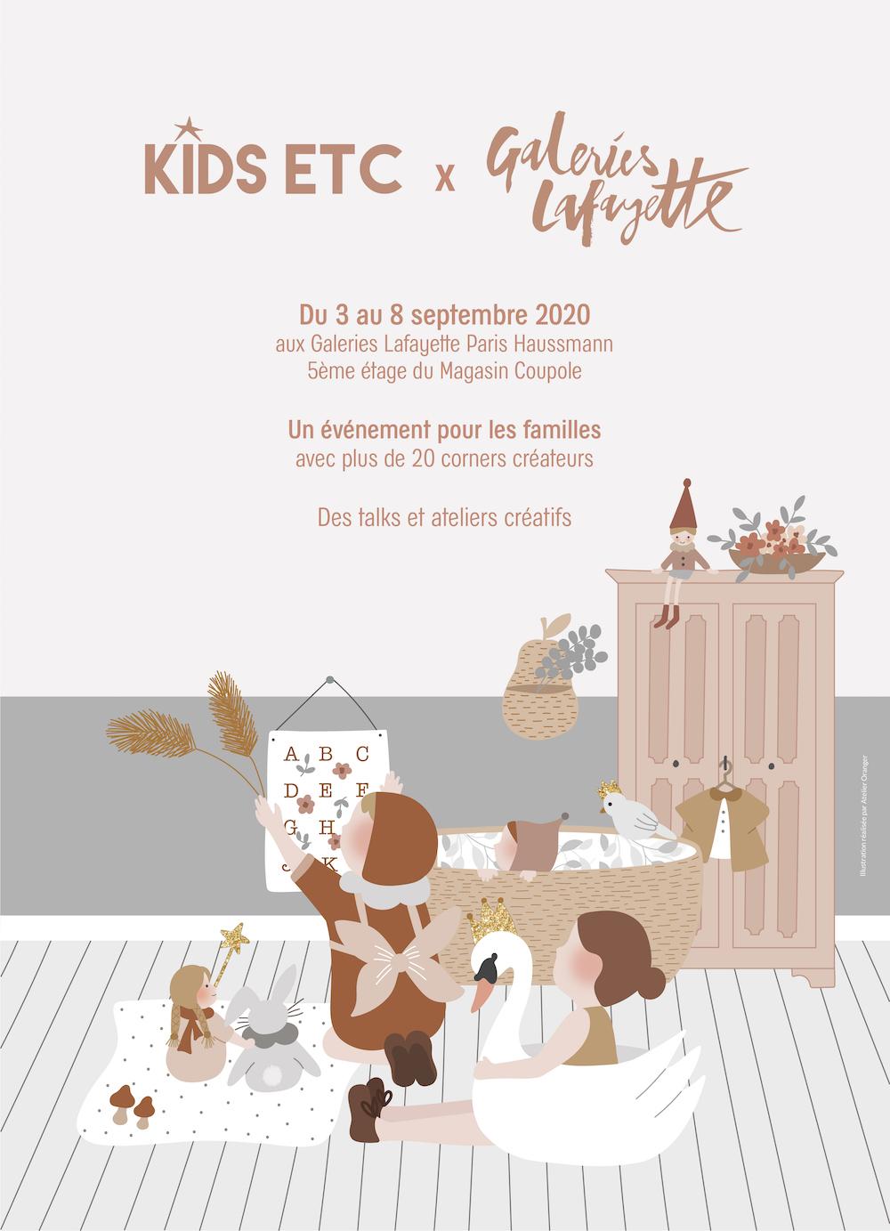KIDS ETC x GALERIES LAFAYETTE – 3 AU 8 SEPT. 2020 - Blog famille Sunday Grenadine