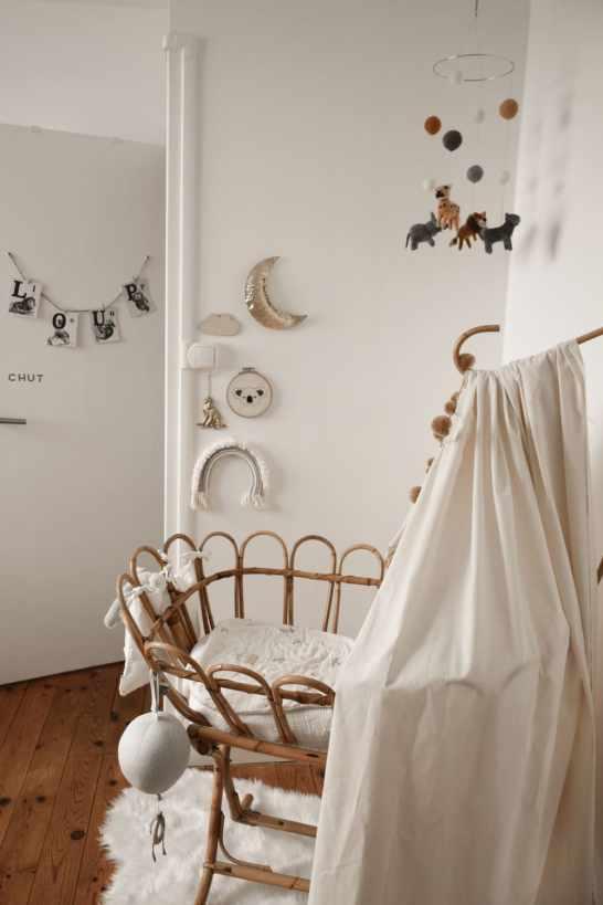 inspiration déco d'une chambre de bébé