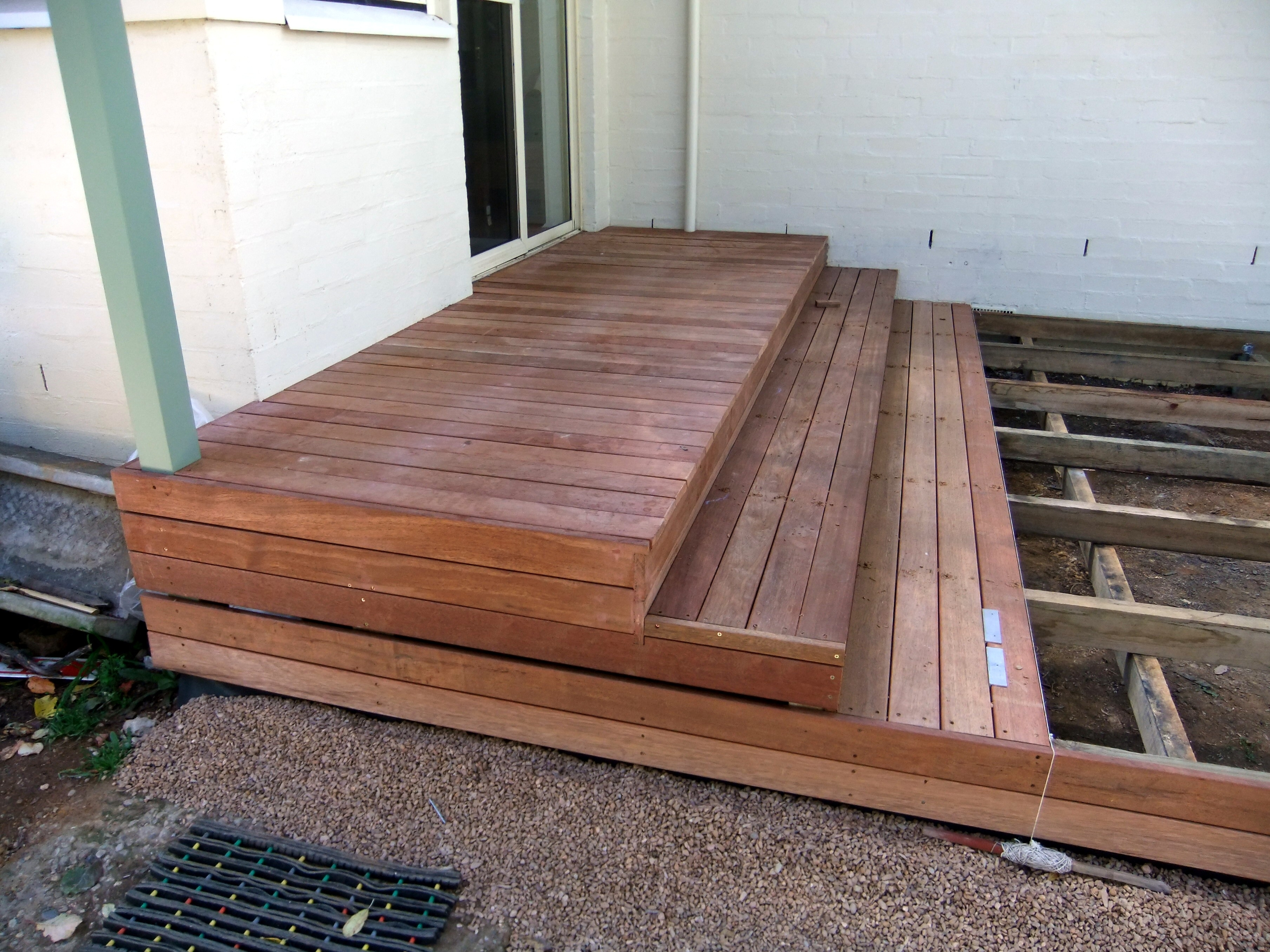 Building A Deck Sunday Musings | Making Steps For Decking