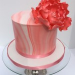 Modern Marble Wedding Cakes Va Sunday Rose Cakes