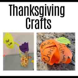 Sunday school crafts thanksgiving