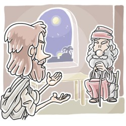 Jesus and Nicodemus Sunday School Lesson