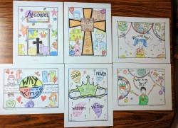 How do I follow King Jesus coloring pages