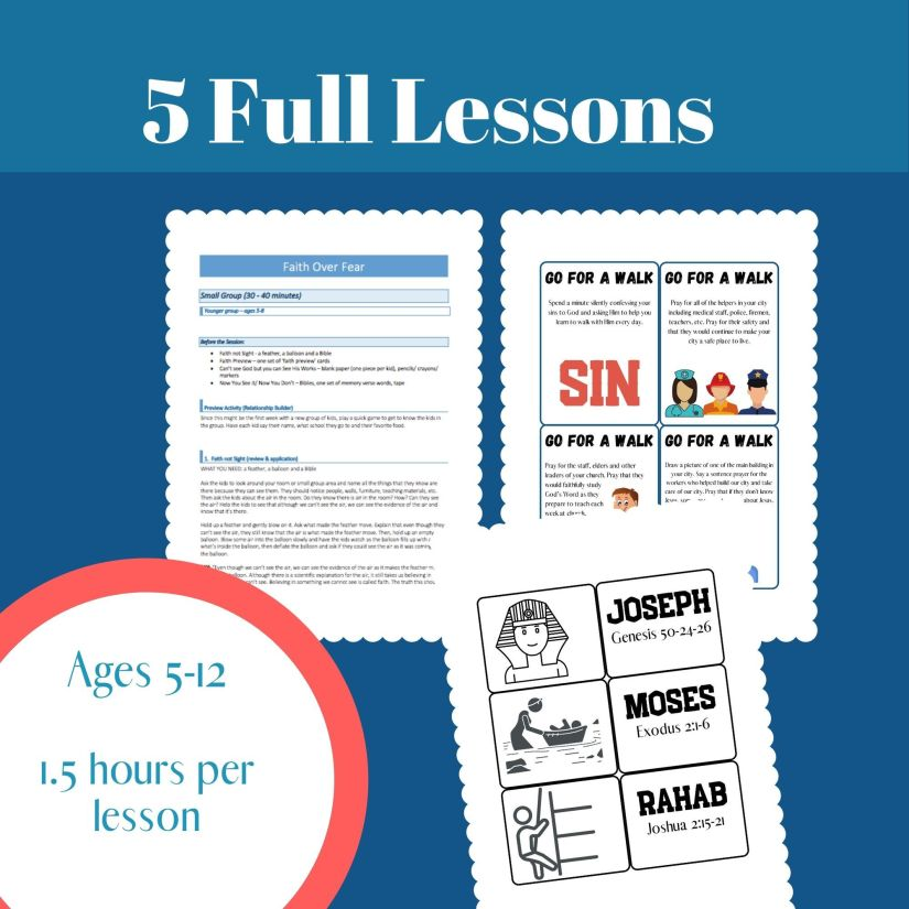back to school curriculum for children's ministry