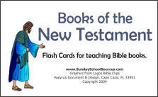 Learning the Books of the Bible: Flashcards, Bingo, songs ...