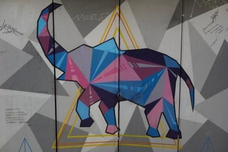 """Graffiti - """"Elefante"""" - Cerro Alegre - Valparaiso"""
