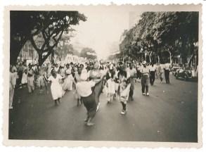Carnaval - Avenida Rio Branco - Rio de Janeiro - 1951
