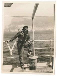 Ms Stig Larson - Détroit de Gibraltar - 23 mai 1958