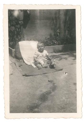 Hervé, son 1er fils.