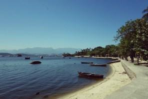 Une plage de Paqueta