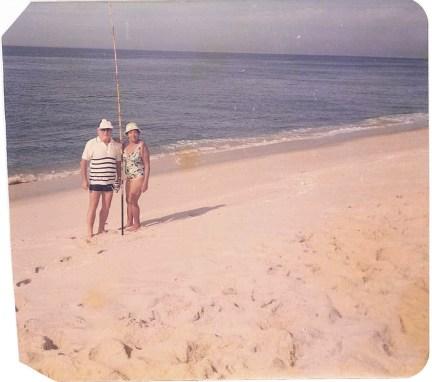 Odette et son mari, Blaise.