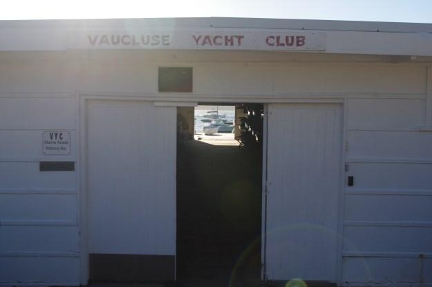 Charmingly old-school Vaucluse Yacht Club.