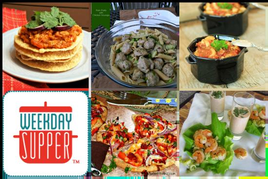 Weekday Supper 10.7 - 10.11