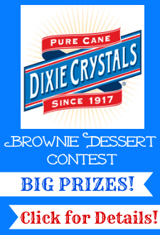 Brownie Dessert Contest sponsored by Dixie Crystals