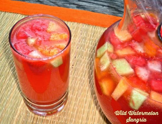 Wild Watermelon Sangria
