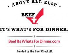 The Beef Checkoff Logo for Posts