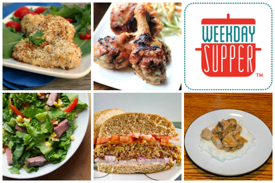 Weekday Supper 7.21-7.25