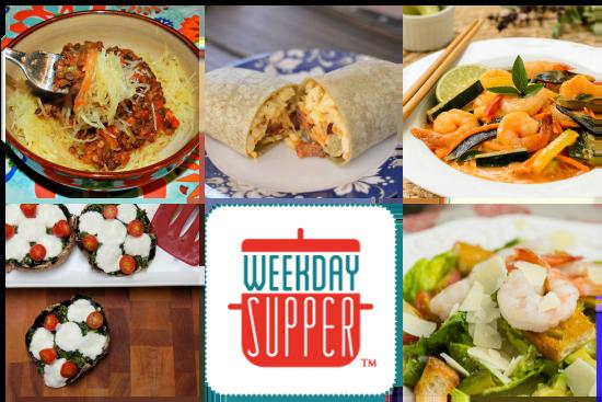 Weekday Supper Menu 8.11-8.15