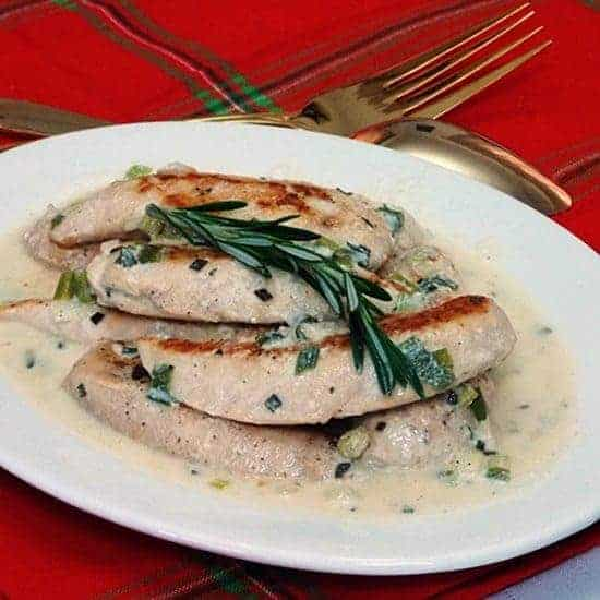 Chicken with Rosemary Sauce #WeekdaySupper