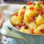 Authentic German Potato Salad #SundaySupper