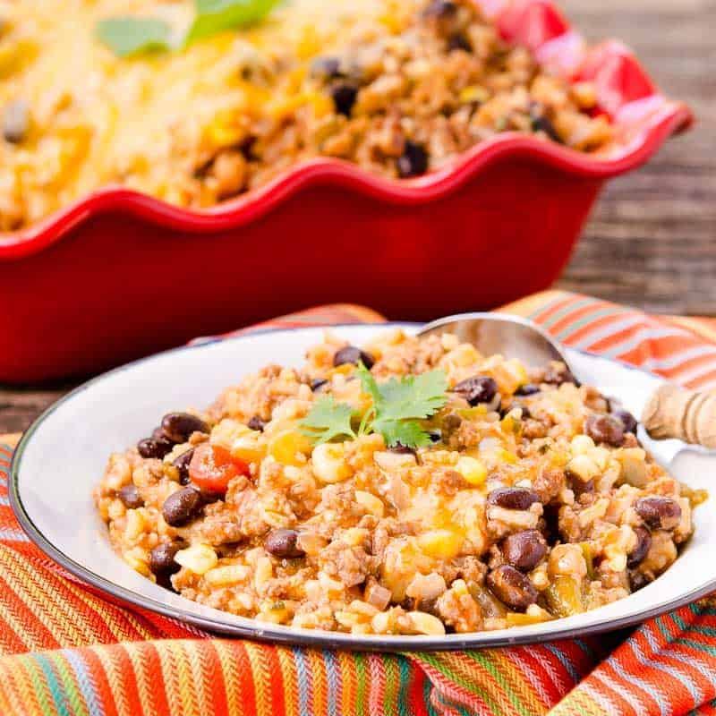 Pressure Cooker Mexican Beef Rice