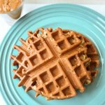 Banana Waffles from Fast to the Table Freezer Cookbook