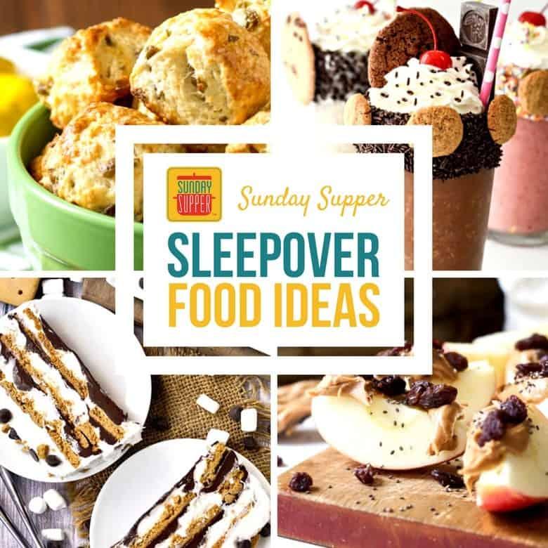 Sleepover Food Ideas