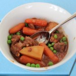 Hearty Beef Stew from Slow Cooker Family Favorites #WeekdaySupper #Giveaway