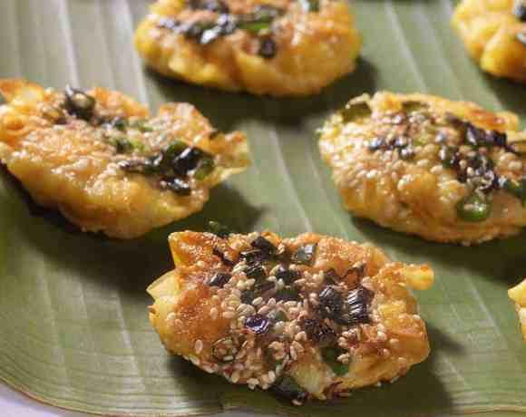 Sunday Supper recipes: Smashed Shrimp Shumai #WeekdaySupper