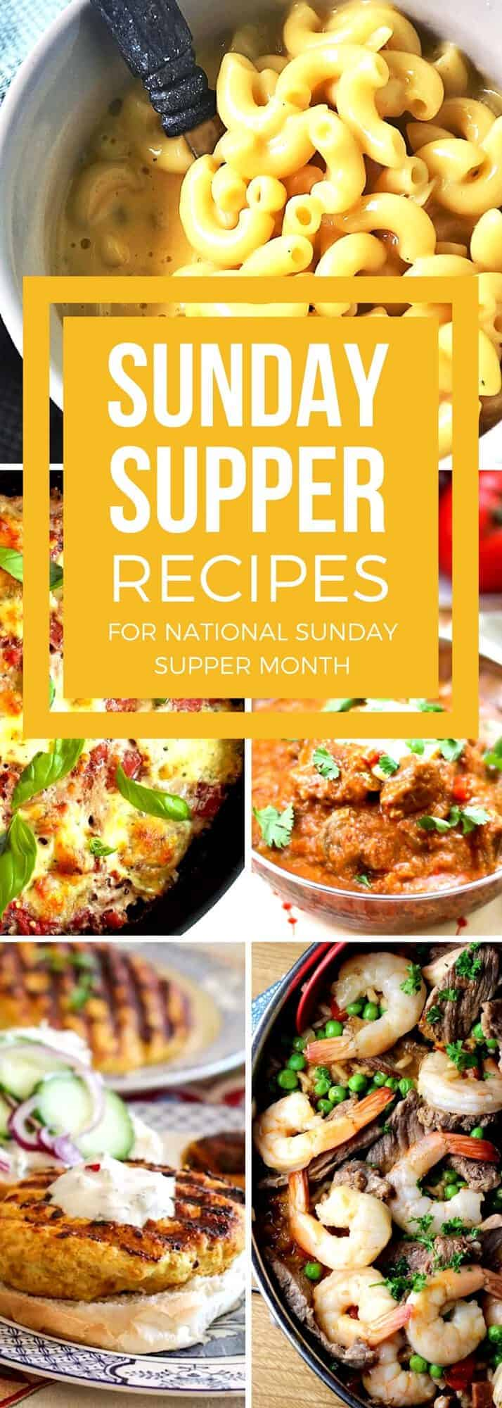 Bring your family back to the dinner table with our favorite Sunday supper recipes. These easy recipes are timeless classics that you and your family will love! With choices from delicious baked casseroles and pastas to flavorful chicken and beef recipes, your perfect family dinner will be waiting at the table to bring everyone together. #SundaySupper