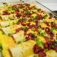RECIPE: Breakfast Enchiladas