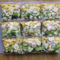 RECIPES: Smoothies - Green / Berry / Blueberry-Banana (pics)