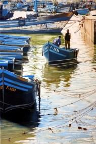 Brian Fleming, Fishing Port, Essaouira, Morocco