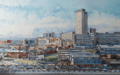 James Newman Grey, Sheffield from Park Hill