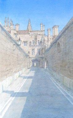 Denis Roxby Bott, New College Lane, Oxford