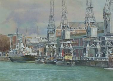 Richard P Cook RBA, An end to voyaging - Bristol Docks