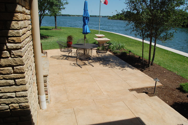 acid stain can transform your patio