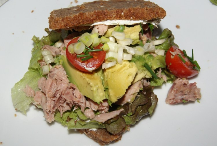 Rugbrøds sandwich