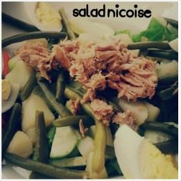 Salat Nicoise!